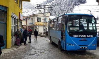 Trabzon'da Belediye otobüs ücratlerine zam