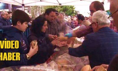 Hamsi Festivalinde 5 ton hamsi ikram edildi