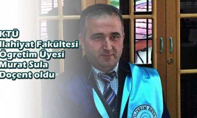 Murat Sula Doçent oldu