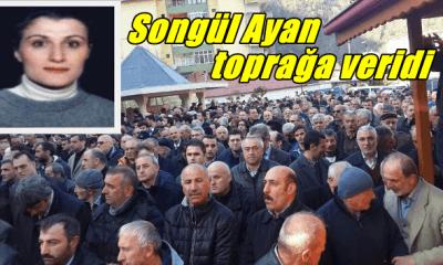 Öğretmen Songül Ayan dualarla toprağa verildi
