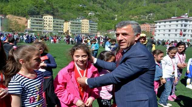 Çaykara'da 23 Nisan Coşku ile kutlandı 5