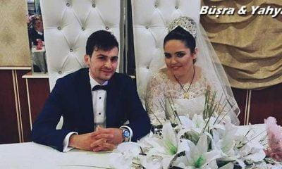 Büşra ile Yahya'ya mutluluklar