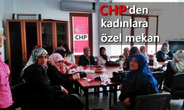 Çaykara CHP'den kadınlara özel mekan