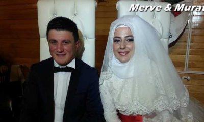 Merve ile Murat'a mutluluklar…