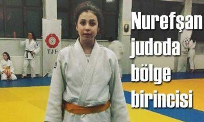 Nurefşan Keskin judoda bölge birincisi