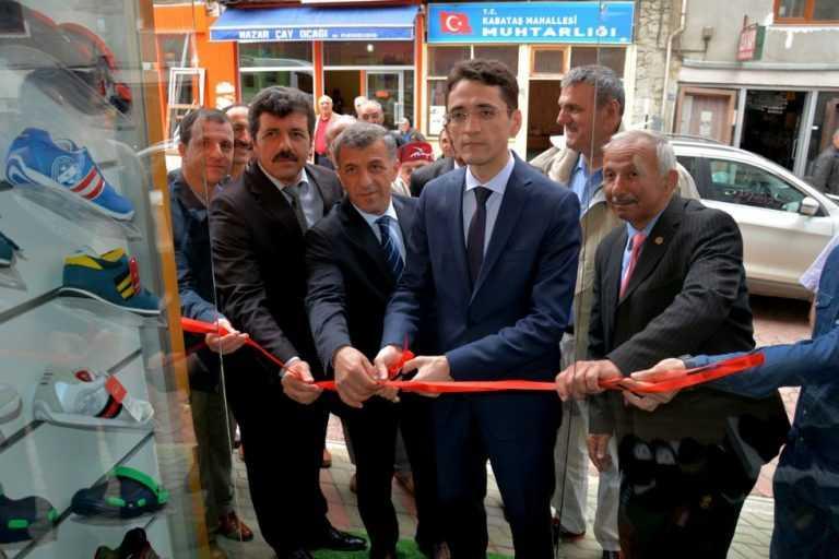 'Çilesiz Kundura' Ayakkabı mağazası açıldı