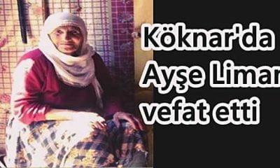 Köknar'da Ayşe Liman vefat etti