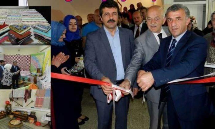 Çaykara Halk Eğitim Merkezi'nin yıl sonu sergisi açıldı