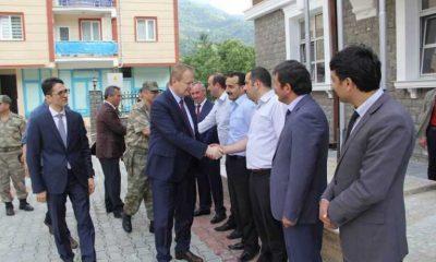 Trabzon'un yeni Valisi Çaykara'da