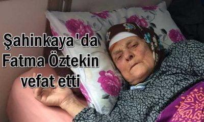 Fatma Öztekin vefat etti