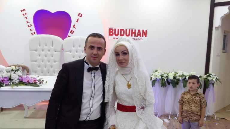 Kübra ile Lokman'ın mutlu günü