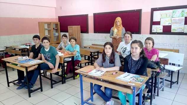 Taşkıran Ortaokulu Müdürü göreve başladı 9
