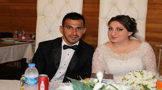 Kübra ile Ümit'in en mutlu günü
