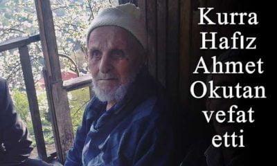 Yeşilalan'da Kurra Ahmet Okutan vefat etti