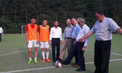 Dernekpazarı futbol turnuvası başladı