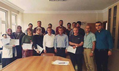 Kosgeb Girişimcilik sertifikaları dağıtıldı