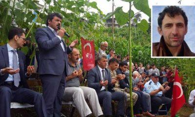 Şehidimiz Ahmet Çamur 1. vefat yıl dönümünde anıldı