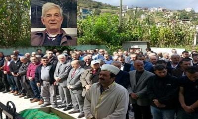 Ataköy'de Cemil Gülmez toprağa verildi