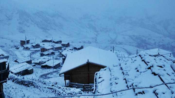 Meteorolojiden yayla ve mezracılara kar uyarısı