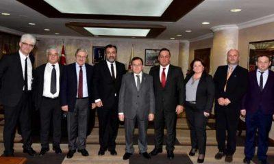 Çaykaralı Avrupa Dernekler federasyon başkanı Trabzon'da