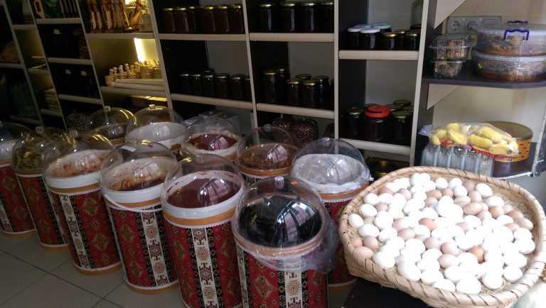 Çaykara'da yöresel gıda ürünleri dükkanı açıldı 4