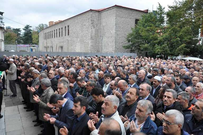 Kent Konseyi Başkanı Ahmet Aslanoğlu toprağa verildi 3