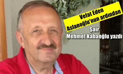 Ahmet Aslanoğlu'dur