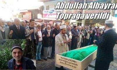Kabataş Mahallesinden Abdullah Albayrak dualarla toprağa verildi