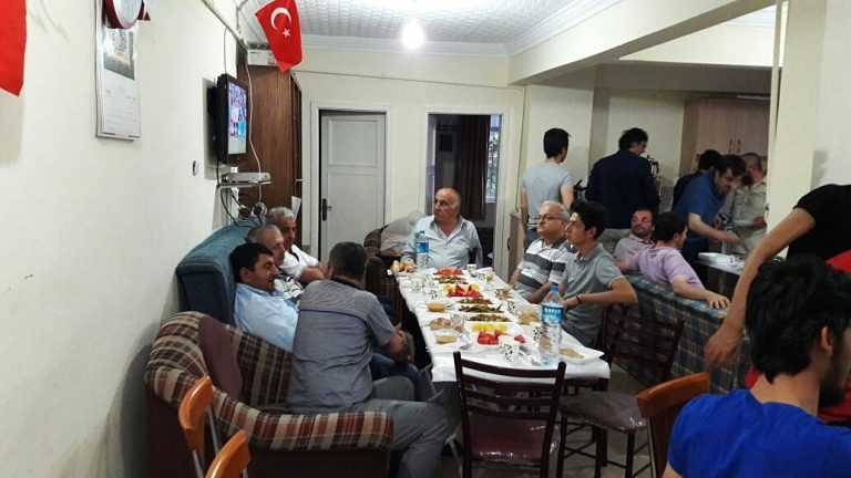 Ankara'daki Çaykaralılar bir araya geldi 12