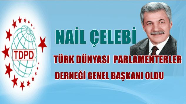 Nail Çelebi Türk Dünyası Parlamenterler Derneği Genel Başkanlığına seçildi