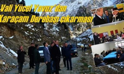 Vali Yücel Yavuz hafta sonu Karaçam'daydı