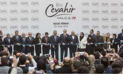 Cumhurbaşkanı Erdoğan Biz Cevahir Haliç AVM'yi açtı