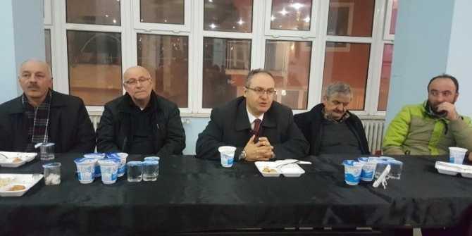Dernekpazarı Belediye Başkanı Aşık esnafla yemekte buluştu
