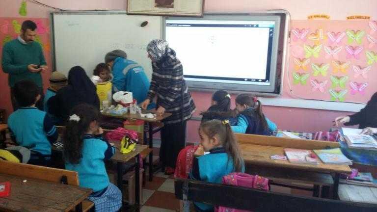 """Zeki Bilge ilkokulunun """"Okul Çağı Çocuklarda Diyabet Tanılama ve Bilgilendirme"""" projesi tamamlandı 3"""