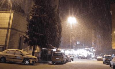 Çaykara'da kar nedeniyle okullar tatil edildi