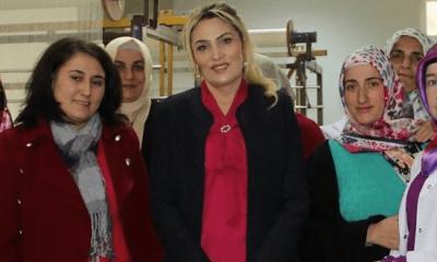 Trabzon Valisi Yücel Yavuz'un  eşi Şengül Yavuz Çaykara'yı ziyaret etti