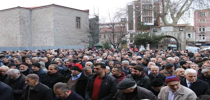 Hasan Fehmi Turan toprağa verildi 7