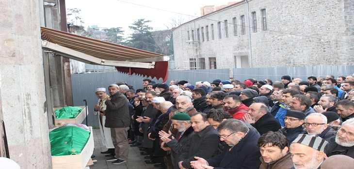 Hasan Fehmi Turan toprağa verildi 6