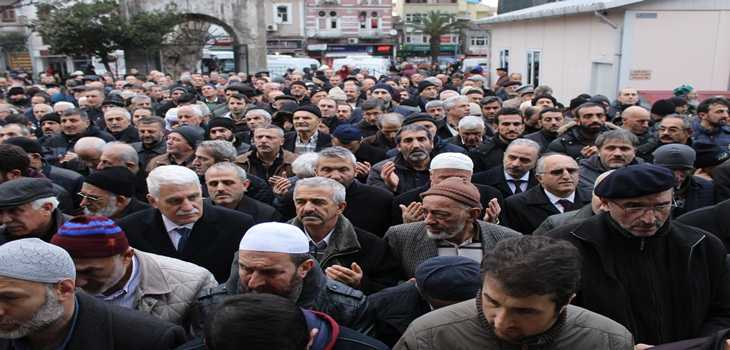 Hasan Fehmi Turan toprağa verildi 5