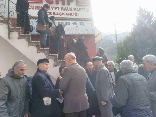 CHP Çaykara İlçe Danışma Kurulu Toplantısı yapıldı 3