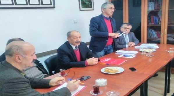 CHP Çaykara İlçe Danışma Kurulu Toplantısı yapıldı