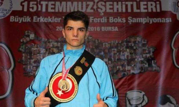 Çaykaralı boksör 15 Temmuz Erkekler Türkiye Boks Şampiyonu