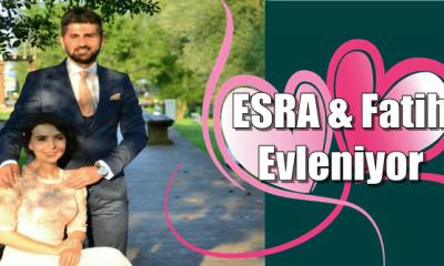 Esra ve Fatih Çifti dünya evine giriyor