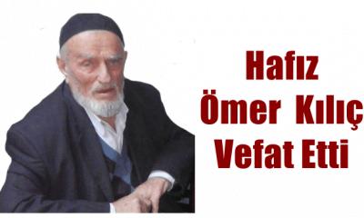 Yeşilalan Mahallesinden emekli din görevlisi Ömer Kılıç vefat etti