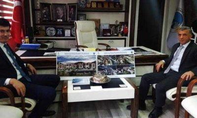 Kaymakam Ayrancı'dan Başkan Tok'a iade ziyareti