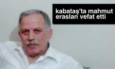 PTT Eski Genel Müdür Yardımcısı Mahmut Eraslan vefat etti