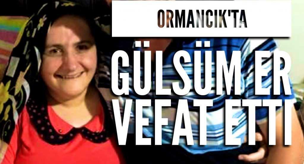 Holo Ormancık'ta Gülsüm Er vefat etti
