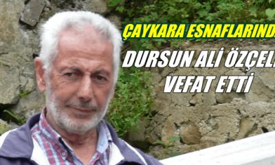 Yeşilalan'dan Dursun Ali Özçelik vefat etti