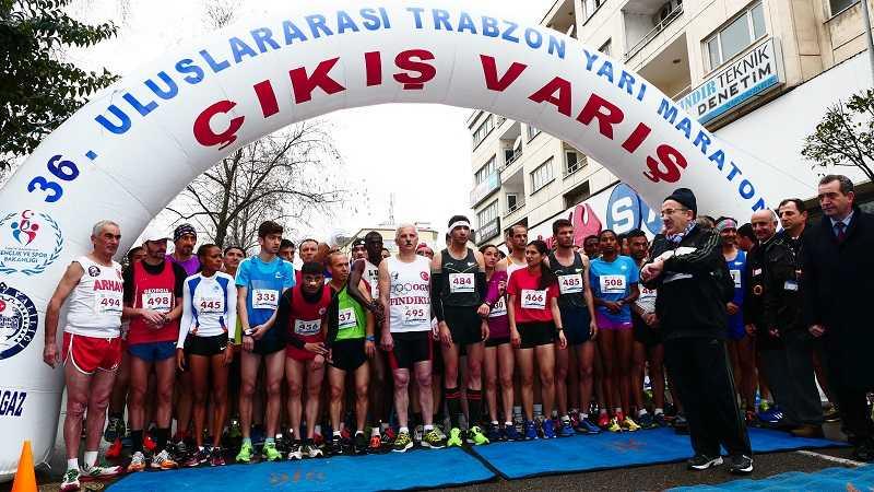 Uluslararası Trabzon Yarı Maratonu 19 Şubat'ta koşulacak