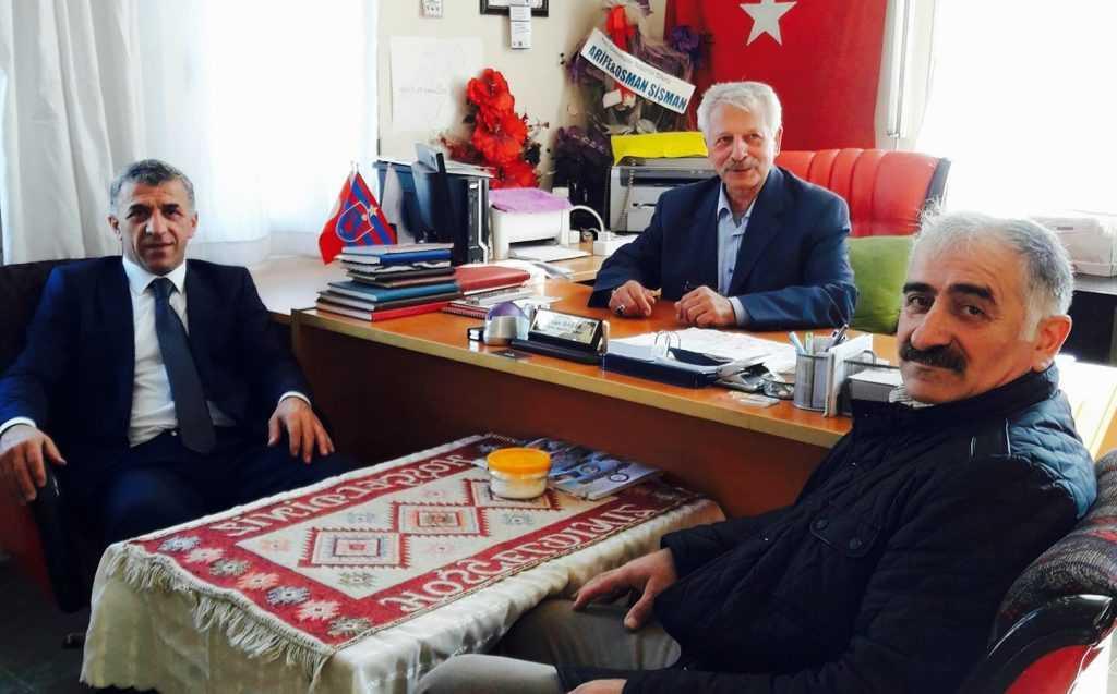 Belediye Başkanı Hanefi Tok Kırıkhan'daydı